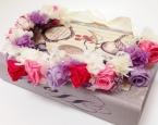 プリザの手作り花冠
